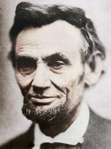 Last Photograph of Abraham Lincoln, (1809-1865), April 1865