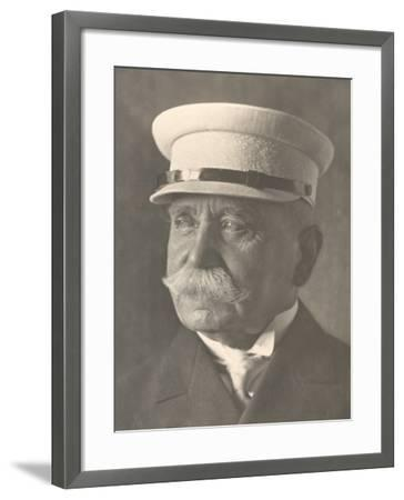 Last Photograph of Count Ferdinand Von Zeppelin, Inventor of the Zeppelin Airship