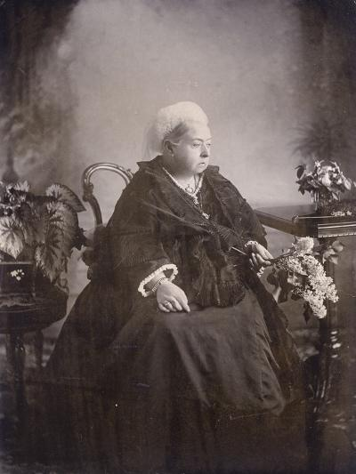 Last Photograph Taken of Queen Victoria at Balmoral--Photographic Print