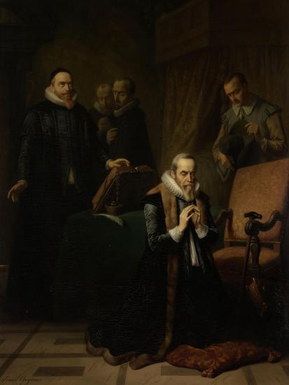Last Prayer of Johan Van Oldebarneveldt-Simon Opzoomer-Art Print