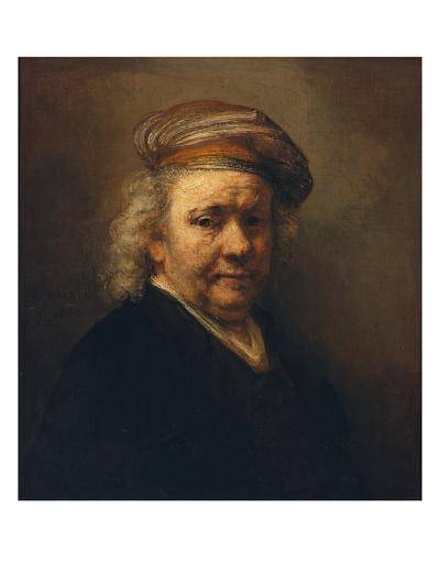 Last Self-Portrait, 1669-Rembrandt van Rijn-Giclee Print