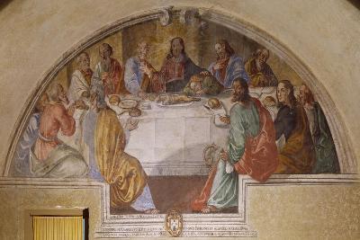 Last Supper, Franciscan Sanctuary of Poggio Bustone, Lazio, Italy--Giclee Print