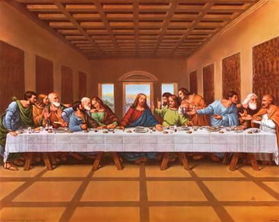 Last Supper-Tobey-Art Print