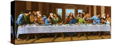 Last Supper-Tobey-Stretched Canvas Print