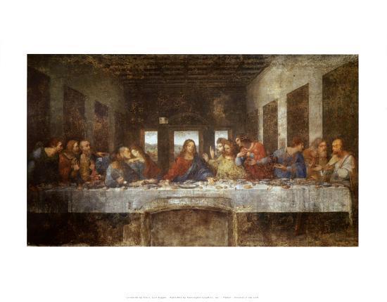 Last Supper-Leonardo da Vinci-Art Print