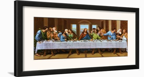 Last Supper-Tobey-Framed Art Print