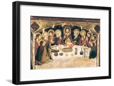 Last Supper-Jaume and Pere Serra-Framed Art Print