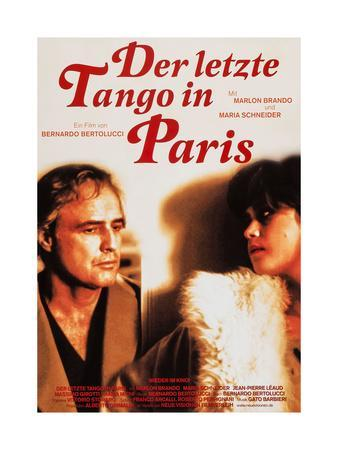 LAST TANGO IN PARIS 1972 Bernardo Bertolucci Classic Movie Cinema Poster Art