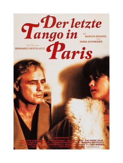 Last Tango in Paris, (aka Der Letzte Tango in Paris), 1972--Giclee Print