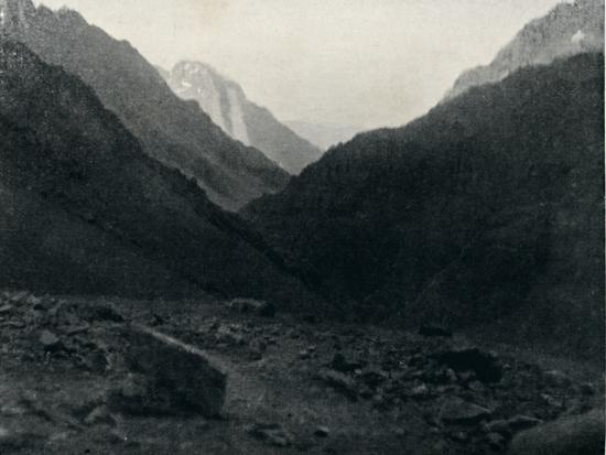 'Last View of Chile', 1911-Unknown-Photographic Print