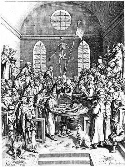 Late 16th Century Anatomy Theatre, Jacques De Gehyn the Elder, 1633-Jacques de Gehyn the Elder-Giclee Print