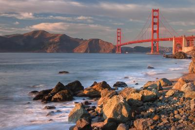 Late Afternoon, Baker Beach, San Francisco-Vincent James-Photographic Print