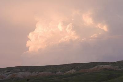 Late Afternoon Clouds Above the Buffalo Gap National Grasslands-Phil Schermeister-Photographic Print