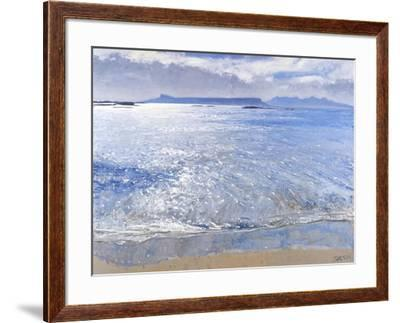 Late Afternoon, Eigg & Rum, 2013-Charles Simpson-Framed Giclee Print