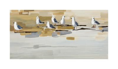 Late Afternoon Gathering ?-Angela Maritz-Art Print