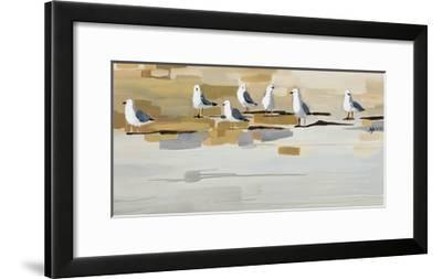 Late Afternoon Gathering -Angela Maritz-Framed Giclee Print