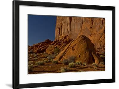 Late Afternoon, Pancake Area, Monument Valley, Arizona, USA-Michel Hersen-Framed Photographic Print