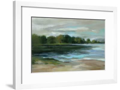 Late Afternoon Stillness Crop-Silvia Vassileva-Framed Art Print