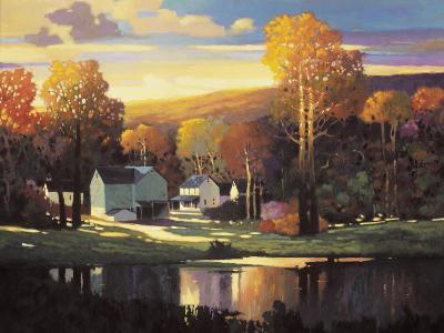 Late Evening in Autumn-Max Hayslette-Premium Giclee Print