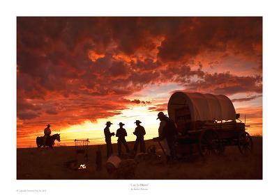 Late for Dinner-Robert Dawson-Art Print