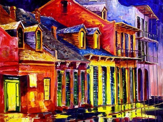 Late Night New Orleans-Diane Millsap-Art Print