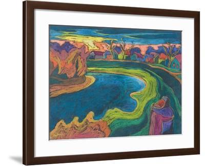 Late Rendezvous, 2006-Marta Martonfi-Benke-Framed Giclee Print