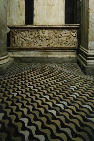 Late-Roman Sarcophagus--Giclee Print