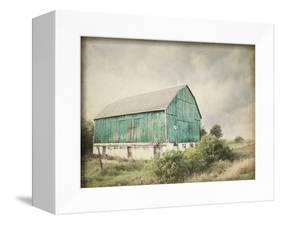 Late Summer Barn I Crop Vintage-Elizabeth Urquhart-Framed Stretched Canvas