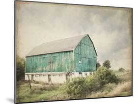 Late Summer Barn I Crop Vintage-Elizabeth Urquhart-Mounted Art Print