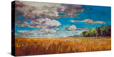 Late Summer Clouds--Stretched Canvas Print
