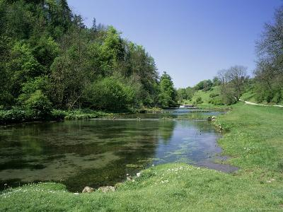 Lathkill Dale, Near Bakewell, Peak District National Park, Derbyshire, England-Roy Rainford-Photographic Print