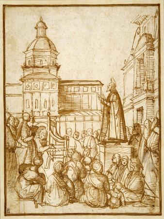 St. Mark Preaching in the Piazza