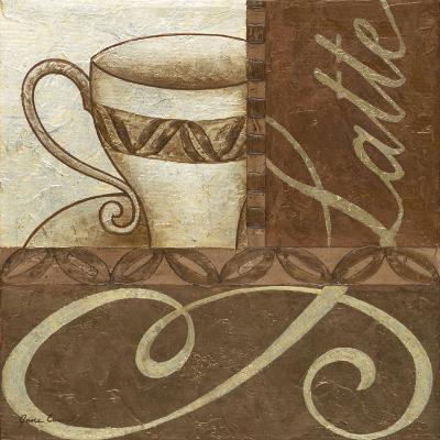 Latte Cafe II-Jane Carroll-Art Print