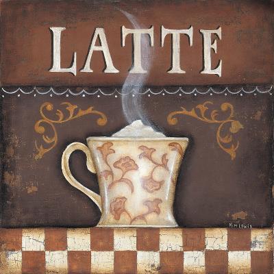 Latte-Kim Lewis-Art Print
