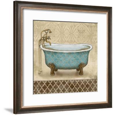 Lattice Bath II-Todd Williams-Framed Premium Giclee Print