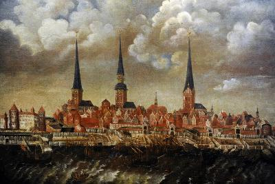 Latvia, Riga, Second Half of the 17th Cent--Giclee Print