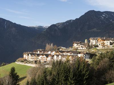 Latzfons Traditional Mountain Village, South Tyrol, Italy-Martin Zwick-Photographic Print