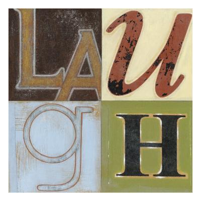 Laugh a Lot-Norman Wyatt Jr^-Art Print