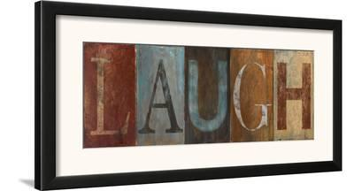 Laugh-Patricia Pinto-Framed Art Print