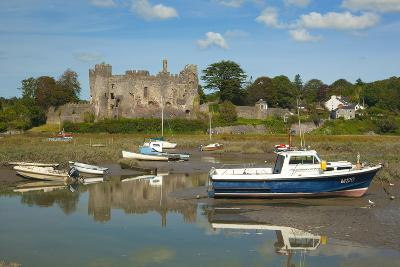 Laugharne Castle, Carmarthenshire, Wales, United Kingdom, Europe-Billy Stock-Photographic Print