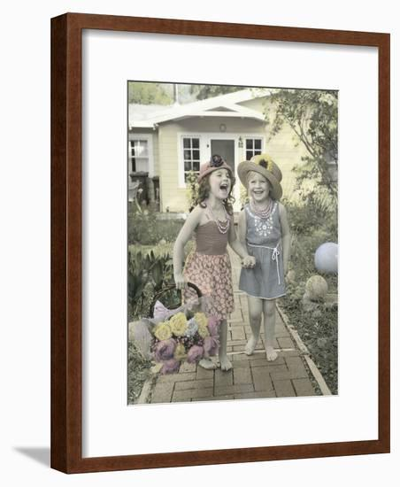 Laughing it Off-Gail Goodwin-Framed Giclee Print