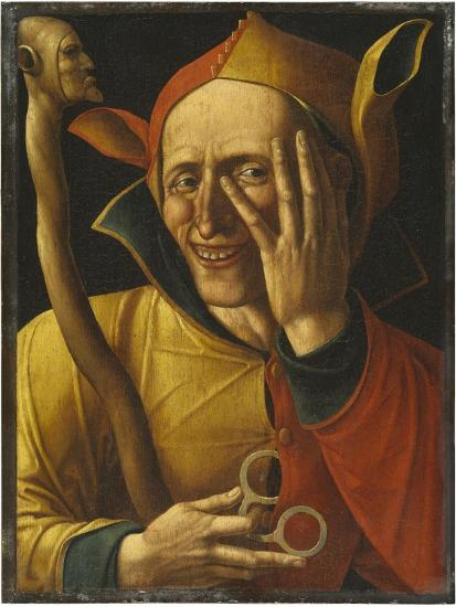 Laughing Jester-Netherlandish School-Giclee Print