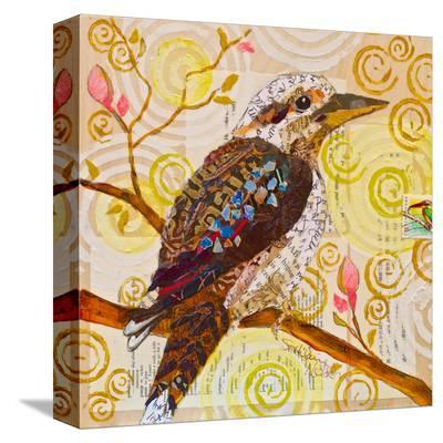 Laughing Kookaburra--Stretched Canvas Print