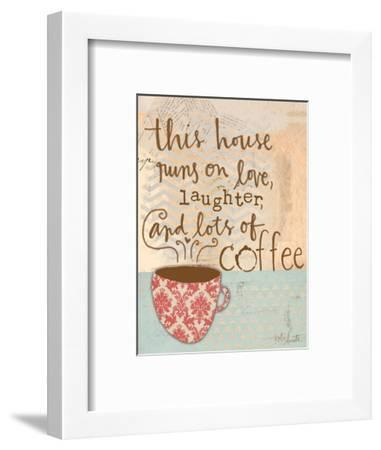 Laughter and Coffee-Katie Doucette-Framed Art Print