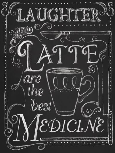 Laughter and Latte-Fiona Stokes-Gilbert-Giclee Print