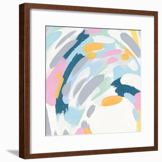 Laughter III-Moira Hershey-Framed Art Print