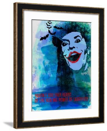 Laughter Watercolor-Anna Malkin-Framed Art Print