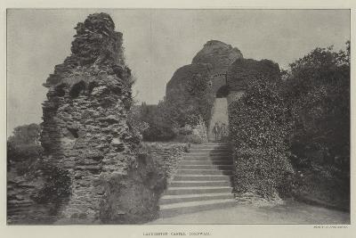 Launceston Castle, Cornwall--Giclee Print