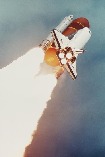 Launch of Shuttle Columbia, STS-40-SLS-1--Photographic Print