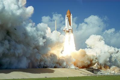 Launch of Space Shuttle Challenger from Kennedy Space Center, Florida, USA, 1985--Photographic Print